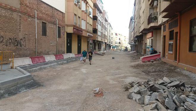 Última fase de la remodelación de la calle Balmes