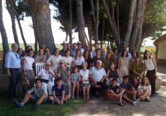 Reunión de los familiares del matrimonio Luis Ruizgomez Iza y Mari Pepa Sánchez Molina
