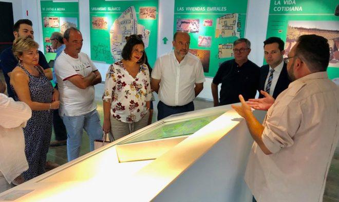 Visita del vicepresidente de Castilla-La Mancha, José Luis Martínez Guijarro / EFDH.