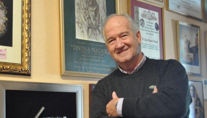 Fallecimiento del imaginero, Luis Álvarez Duarte