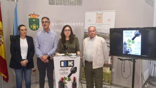 Presentación de la 4ª Feria y la 1ª  Cata-Concurso de vinos de la DOP de Jumilla