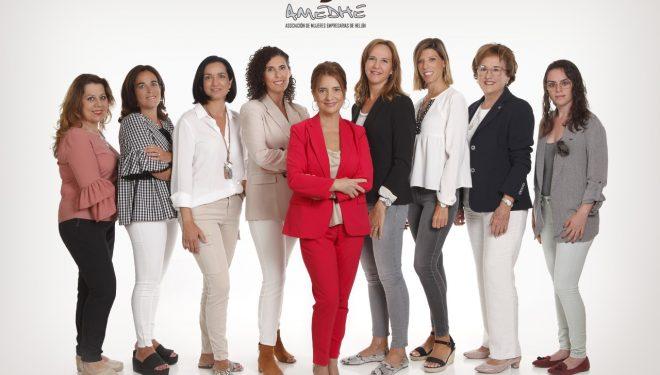 Nueva Junta directiva de la Asociación de Mujeres Empresarias de Hellín (Amedhe)