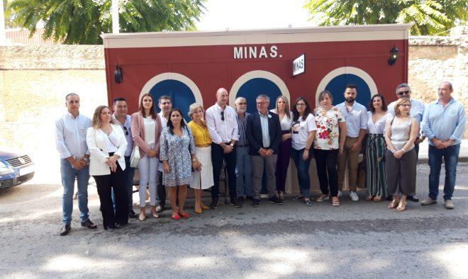Estación de La Minas.