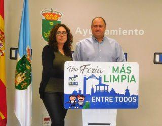 El concejal, Julián Martínez, pide la colaboración de todos los vecinos para mantener la Feria limpia