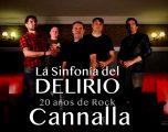 """La veteranabanda Ñ´Cannalla presenta su concierto""""La Sinfonía del Delirio"""""""