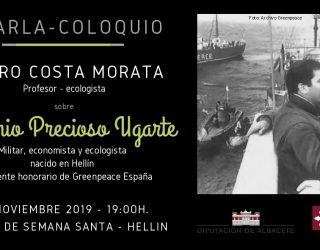 Charla-coloquio sobre Artemio Precioso, a cargo de Pedro Costa Morata