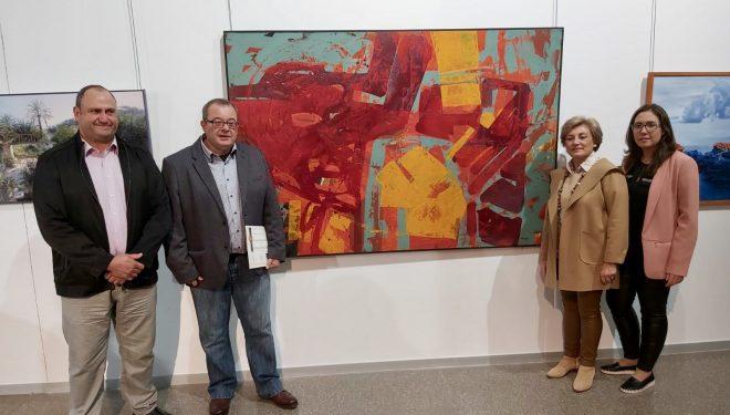 """Francisco Mora obtiene el primer premio en el III Certamen Nacional de Pintura """"Ciudad de Hellín"""""""