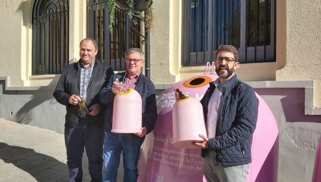 Campaña de Ecovidrio para la lucha contra el cáncer de mama