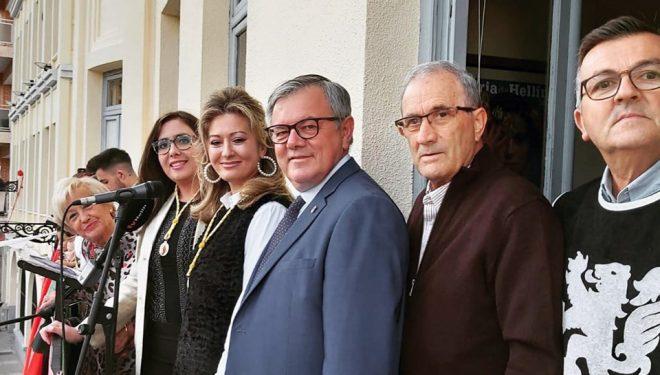 Entre cante y cante, Verónica Moreno pregonó Las fiestas de San Rafael
