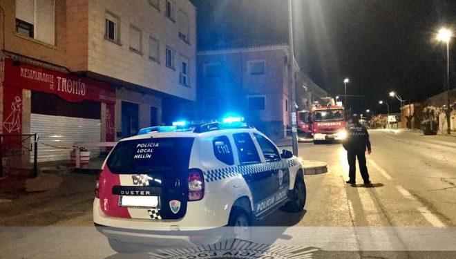 Desalojado un bloque de viviendas en Hellín por una posible fuga de gas