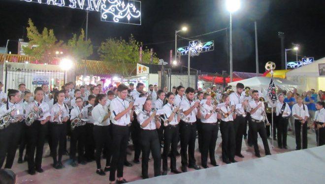 Actuación de la Banda de Cornetas y Tambores Ntra. Sra. del Dolor en Aguadulce (Almeria)