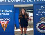 Medalla de bronce para Nerea Ibañez en el Campeonato Nacional de Natación