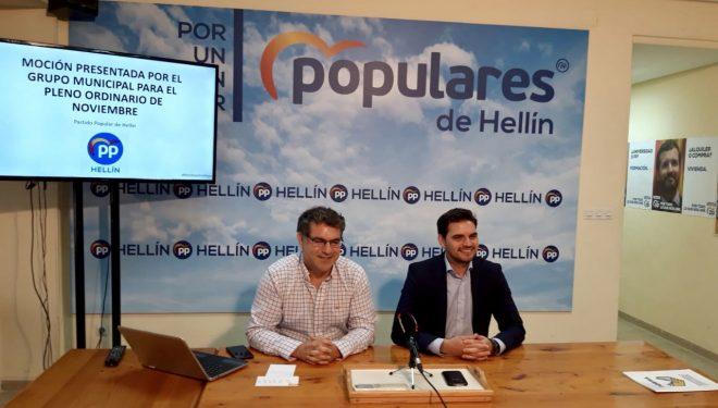 El Partido Popular pide que se elimine el punto negro de la carretera Hellín-Isso
