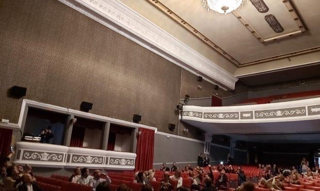 Reapertura del Teatro Victoria.
