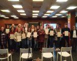 Entrega de diplomas a los alumnos del curso de Formación Profesional para el Empleo