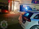 Incendio en la madrugada del pasado miércoles en la calle Baeza
