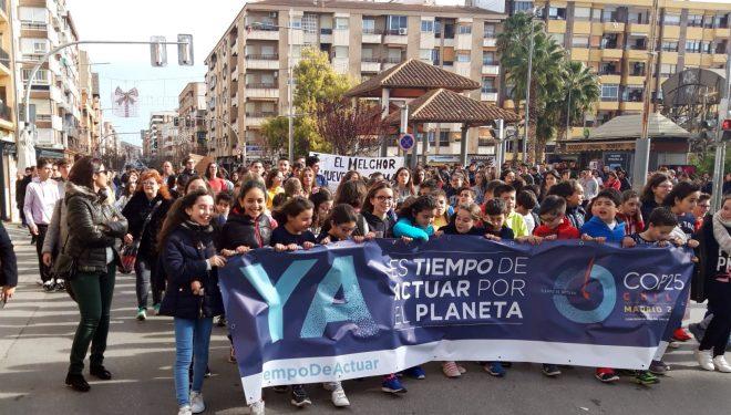 Los centros de Educación de Hellín en contra del cambio climático
