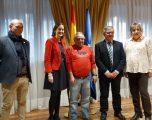 """El Ayuntamiento da a conocer """"Hellín 2 Patrimonios"""" a la ministra de Turismo como marca para relanzar la ciudad"""