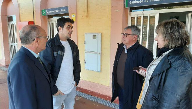 Adif entrega la llave y autorización de accesos a instalaciones de la Estación de Renfe