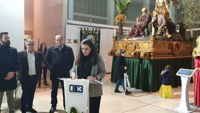 """El MUSS acoge la exposición del concurso de cartel para conmemorar el 75 aniversario de la llegada del """"Paso Gordo"""" a Hellín"""