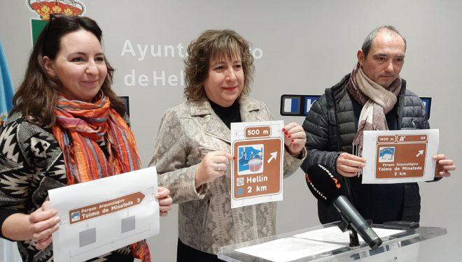Hellín y el Tolmo de Minateda tendrán nueva señalización en el casco urbano y la autovía