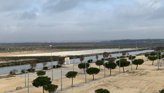 El proyecto ecológico de depuración de aguas de Agramón en marcha