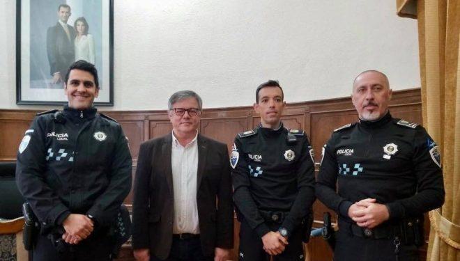 Rafael López Hermosilla y Antonio Valenciano Martínez, nuevos oficiales de la Policía Local