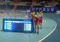 José Martínez Morote campeón del mundo en 4×400