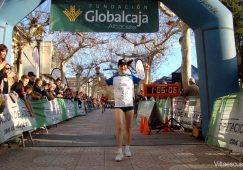 Eva Moreno consiguió su tercera victoria en el Circuito Provincial de Atletismo