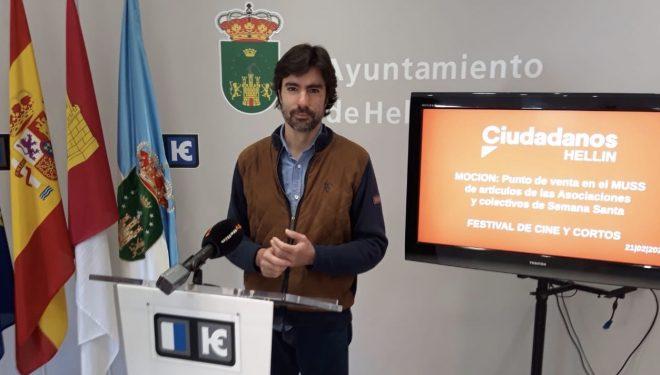 Ciudadanos pide que se instale un punto de venta en el Museo de Semana Santa