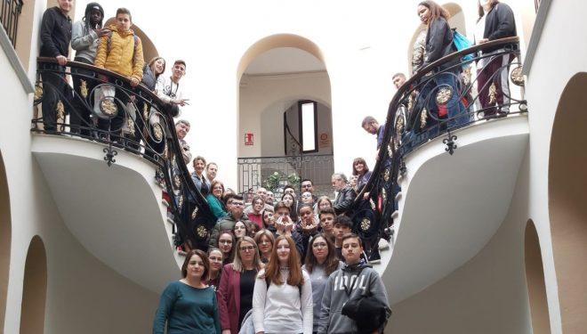 IES Justo Millán inició con total éxito su andadura europea del programa Erasmus+