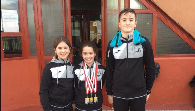 Ángela Sánchez consiguió una medalla de oro y dos de plata