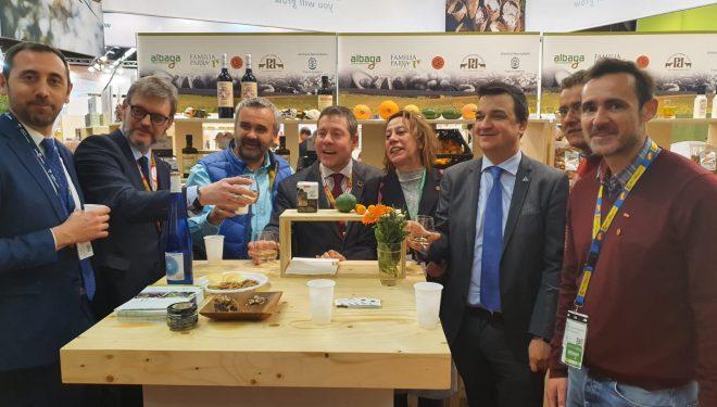 Una delegación de la empresa agrícola Ramón Alarcón en Núremberg