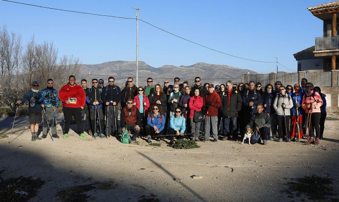 Rutas de senderismo de la Diputación en Ontur.