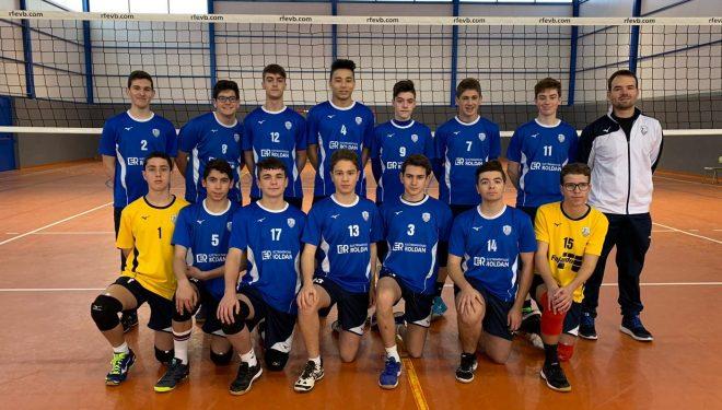 Novena victoria consecutiva del Club Voleibol Ciudad de Hellín Cadete