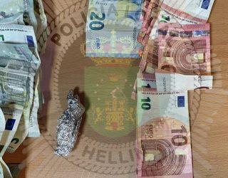 Detenida una persona por presunto tráfico de drogas