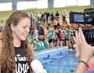 La nadadora Nerea Ibáñez con dificultades para entrenar