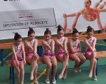 Magnífica actuación de los equipos hellineros en la X Copa de Gimnasia Estética de Grupo