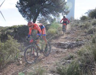 El fuerte viento marca la Ruta BTT de Pozo Cañada