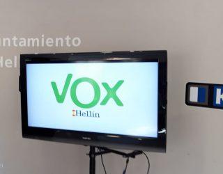 Vox presenta una moción donde pide más medidas para paliar los efectos del coronavirus