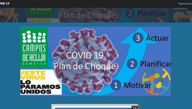 Iniciación del Plan de Choque Covid-19 de la comarca Campos de Hellín