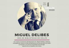 El Día del Libro destinado a conmemorar el centenario del nacimiento de Miguel Delibes