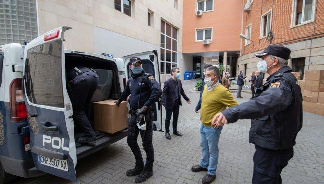 El Gobierno de España reparte 82.000 mascarillas en la provincia de Albacete