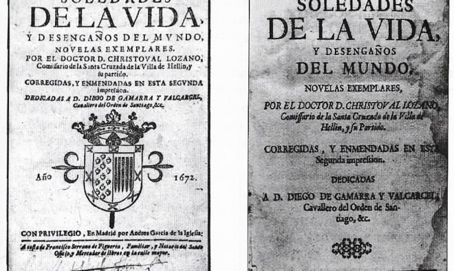 SOLEDADES DE LA VIDA, de Cristóbal Lozano