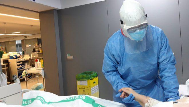 35 pacientes con Covid-19 han sido atendidos por el Servicio de Rehabilitación y Fisioterapia del GAI en el Hospital de Hellín