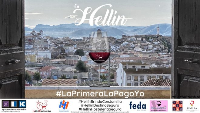 El Consejo Regulador del vino DOP Jumilla apoya la campaña #EnHellínLaPrimeraLaPagoYo