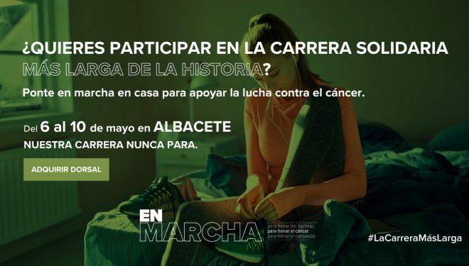 «La carrera solidaria más larga de la historia» llega el 6 de mayo a Albacete