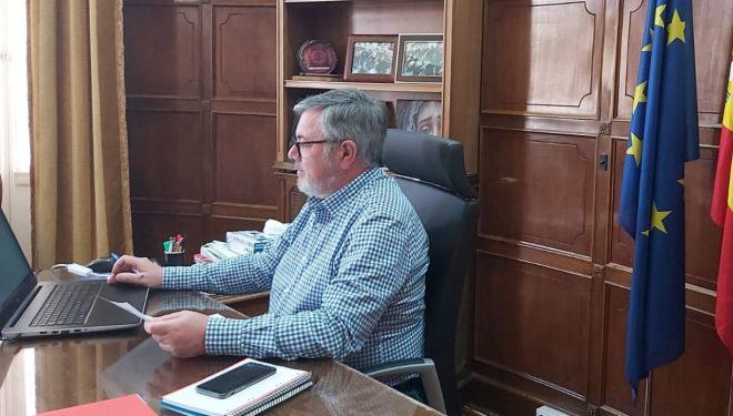 Ramón García confía en que Hellín entre pronto en la fase uno ante los buenos datos actuales de contagios
