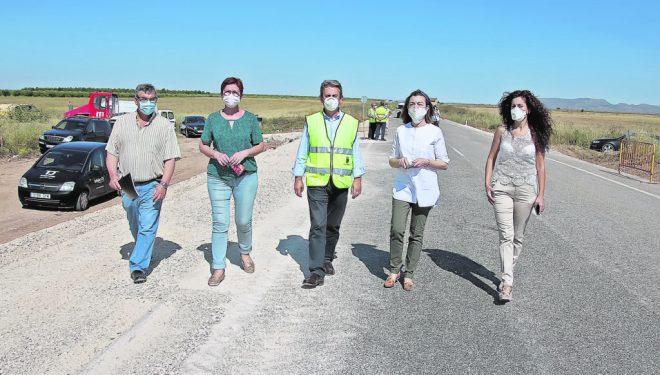 Las carreteras de Jumilla-Hellín y Jumilla-Ontur ya se han reparado tras la DANA de septiembre