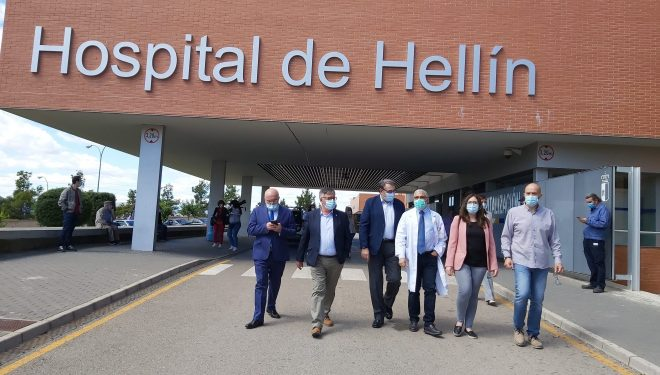 Además de reparar los daños del incendio, el Hospital de Hellín será renovado y mejorado en todas sus instalaciones
